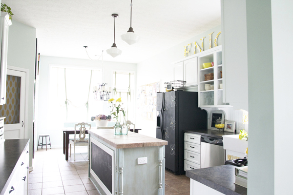 A Cottage Kitchen Before & After