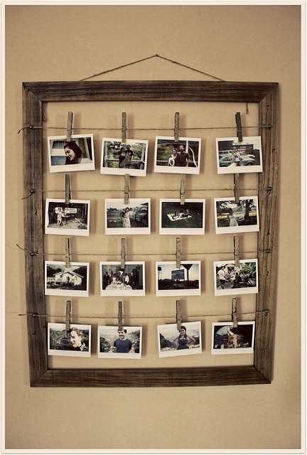 How to Make a Photo Frame - The Inspired Room