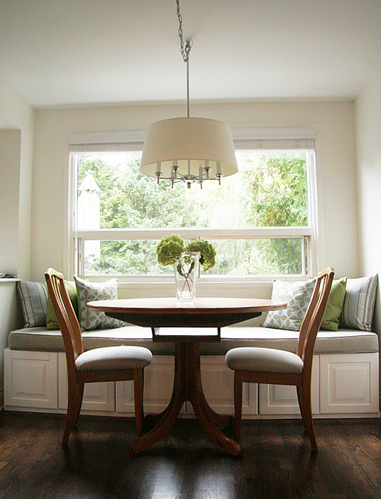 Banquette Idea Use IKEA Cabinets The Inspired Room