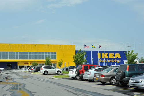 Shopping at IKEA for a New Home Office! {And tips for newbie IKEA shoppers!}