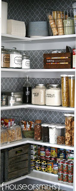 how to organize a pantry how to decorate a pantry