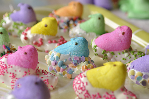 peeps with sprinkles