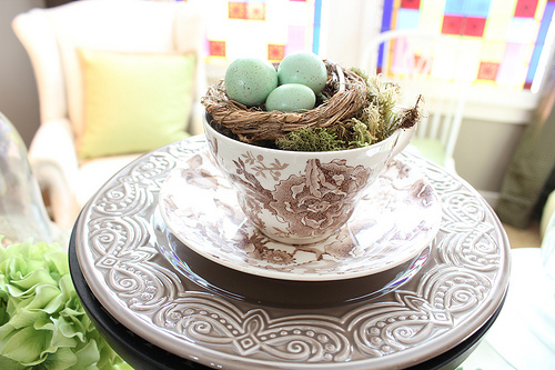 Time to Decorate with Spring Eggs!