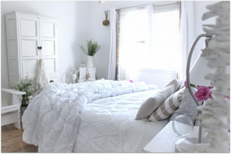Peaceful White Bedroom Makeover A Beach Cottage