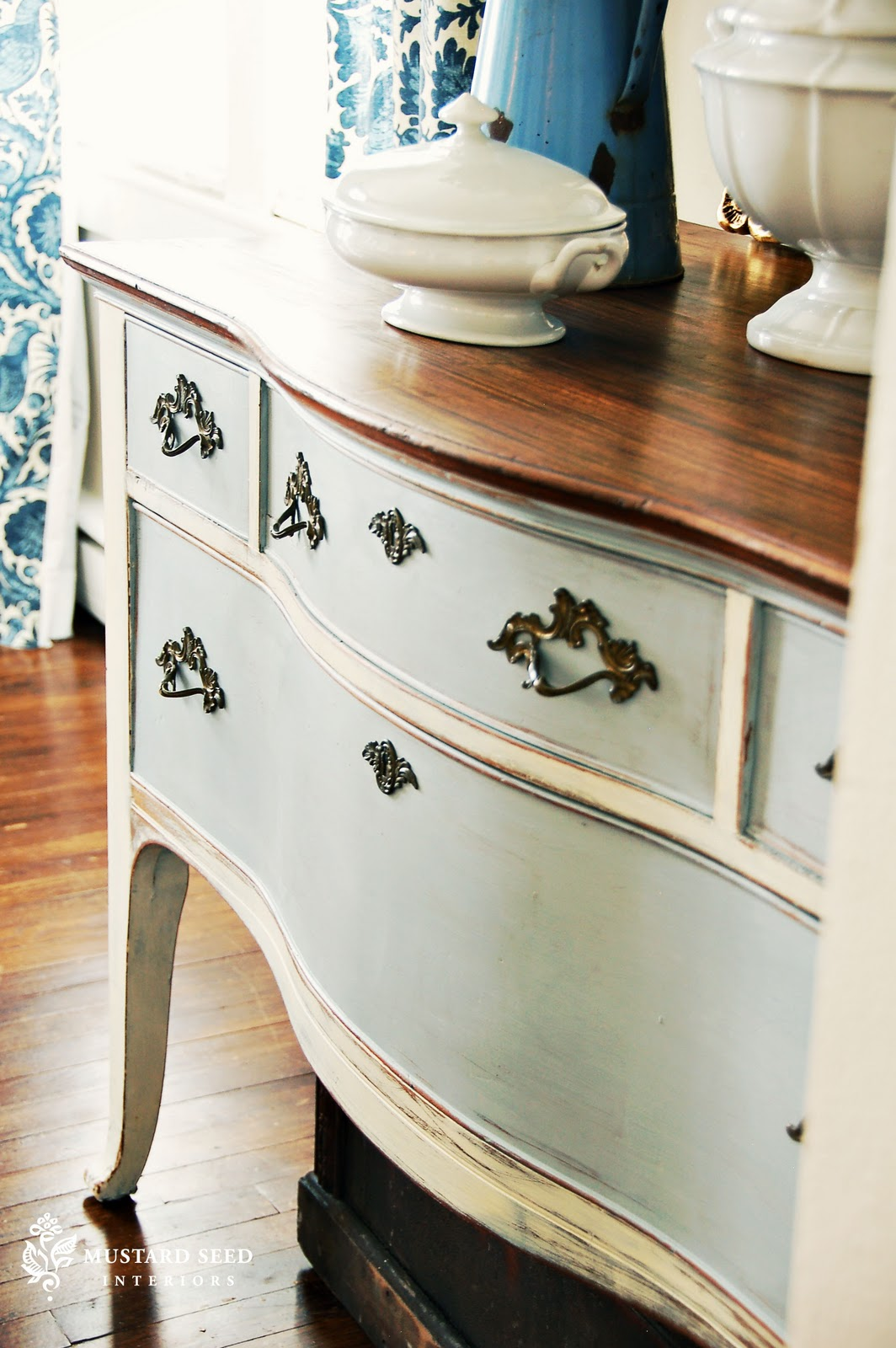 21 rosemary lane the skinny on homemade chalk paint Best color to paint dresser