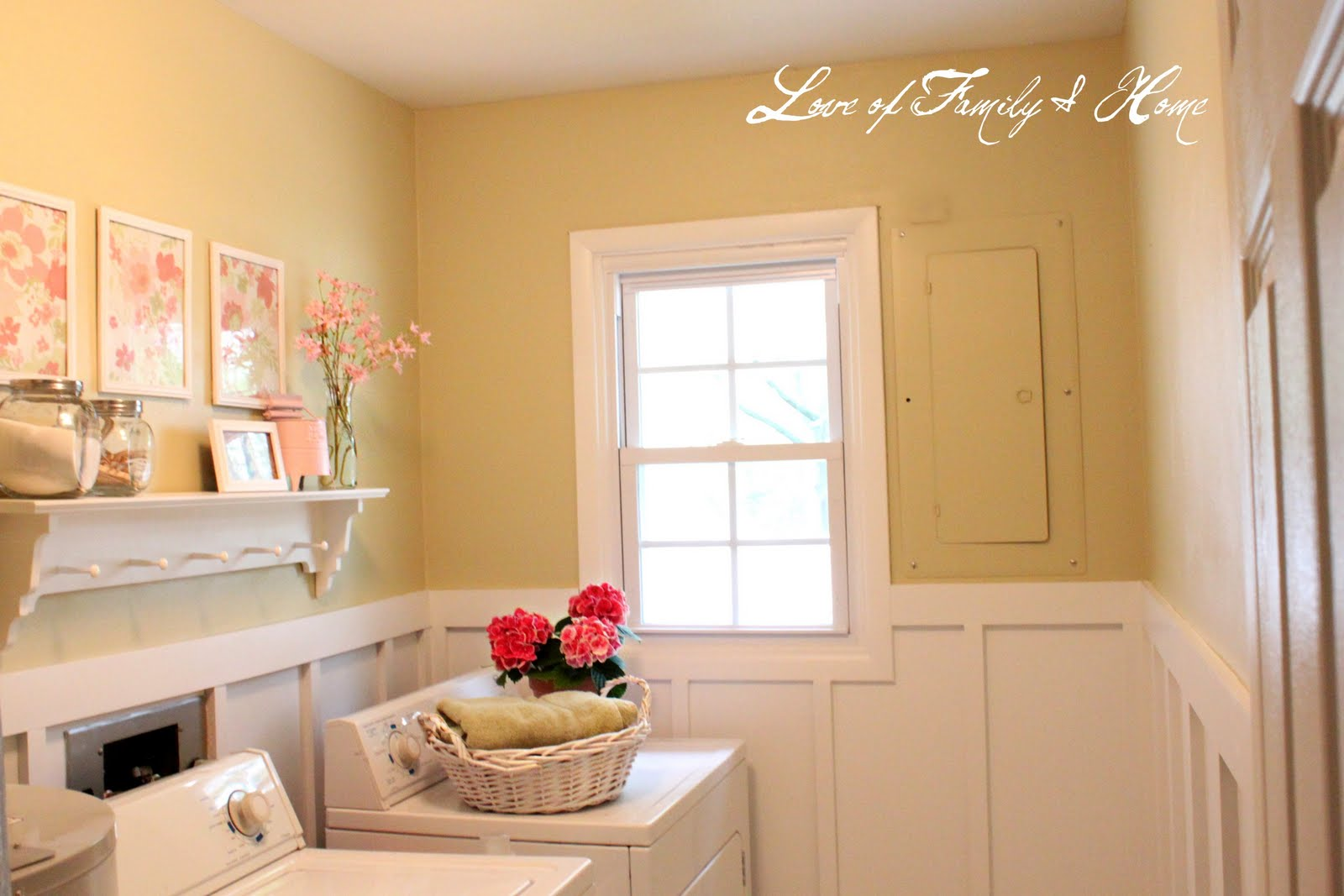Laundry Room Makeover  Love Of Family   Home