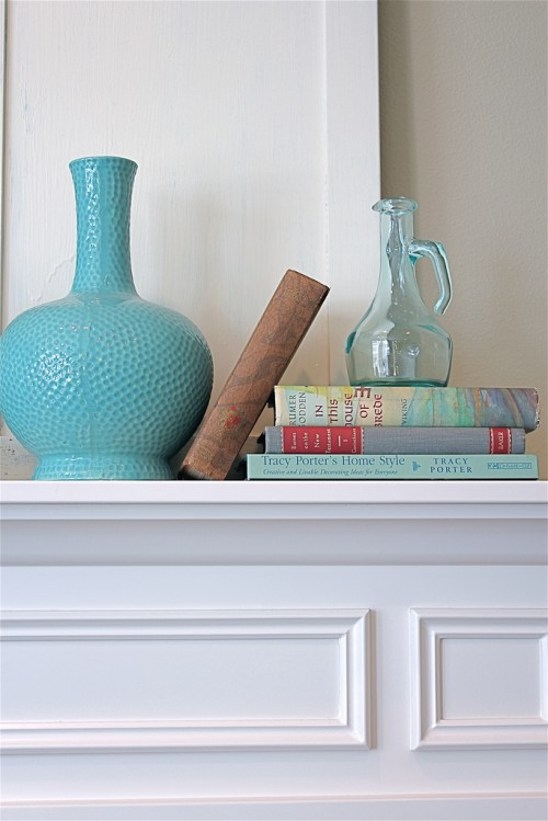 Summer Decorating {a.k.a. I'm Easily Distracted by Pretty File Boxes and Shiny Things}