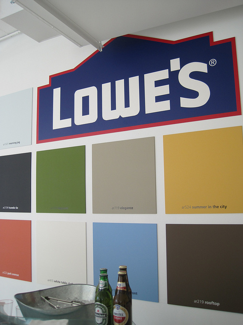 I was invited by Lowe's along with Valspar Paint (THANK YOU SO MUCH!