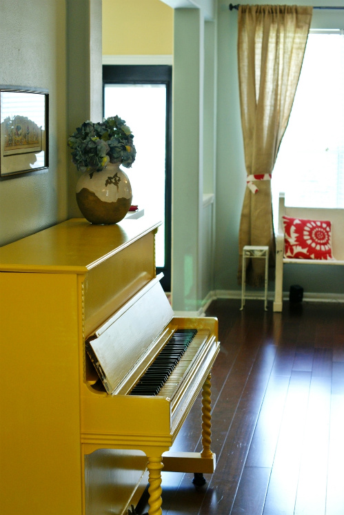 Never Paint a Piano Yellow