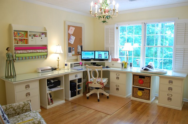 Home Office and Craft Room 640 x 424