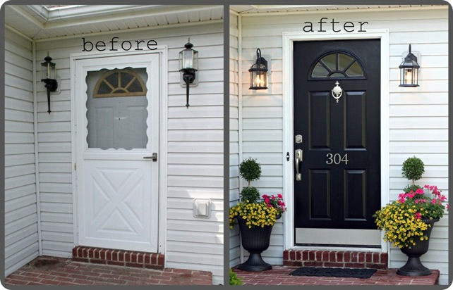 Front Door Makeover 320 Sycamore