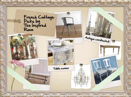 French Cottage with a Twist of Farmhouse:: Dining Room Inspiration Board {and $10,000 Giveaway!}