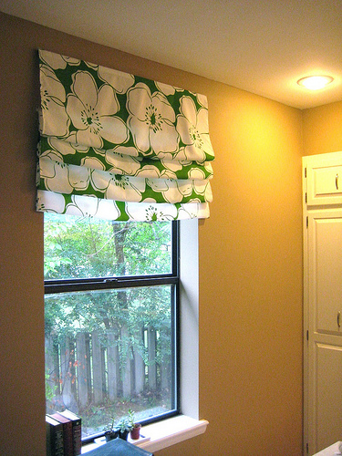 Easy Diy Roman Shade Tutorial Welcome To Heardmont The