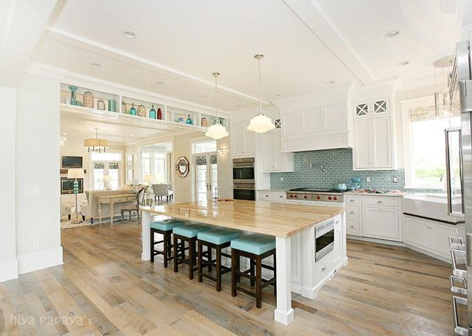 Be Still My Heart -- A Coastal Inspired Kitchen {5 Take Away Tips}