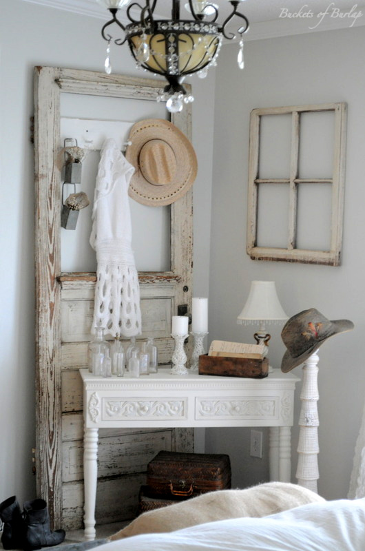 Becky S Vintage Master Bedroom Reveal Buckets Of Burlap. Rustic Cabin Bathroom Designclassic Western Bathroom Decor Ideas