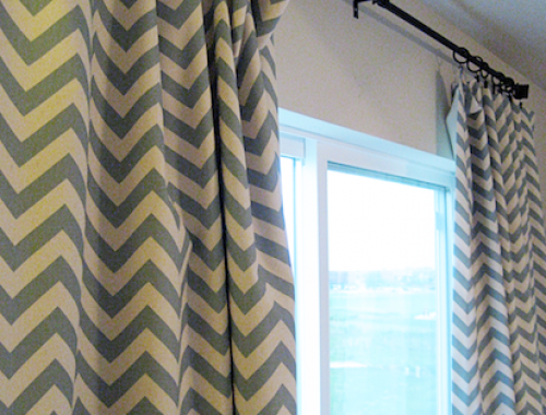 Tutorial: How to Sew Lined Curtains