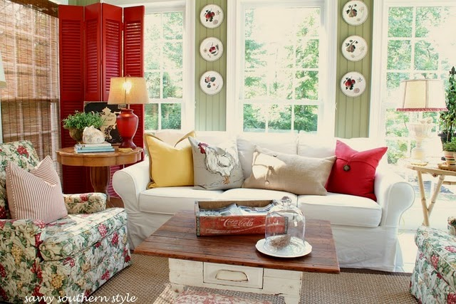 Room decorating before and after makeovers for Southern style designs
