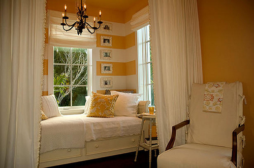 Curtains Ideas curtains for window seat : Inspiration: 10 Lovely Window Seats - The Inspired Room
