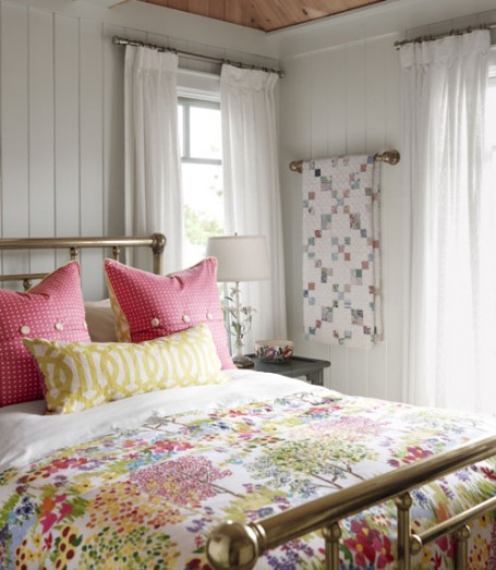 Graffiti Bedroom Design Ideas Sarah Richardson Bedroom Design Ideas Guest Bedroom Color Ideas Lavender Bedroom Decor: 5 Decorating Ideas From Sarah's Cottage