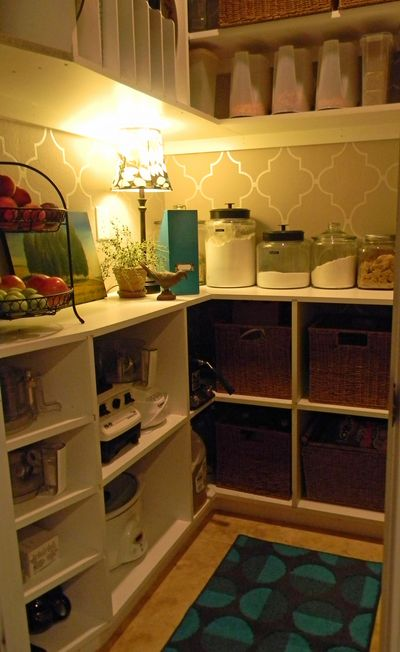One Afternoon DIY Chic Pantry Makeover