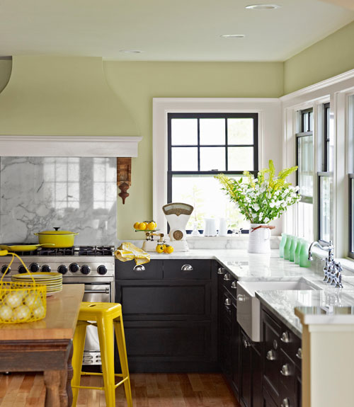 Beyond Typical & White Fresh Kitchen Ideas