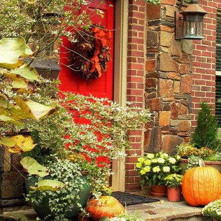 Fall Porch Ideas: 5 Ways to Add Fall Color to the Porch & Garden