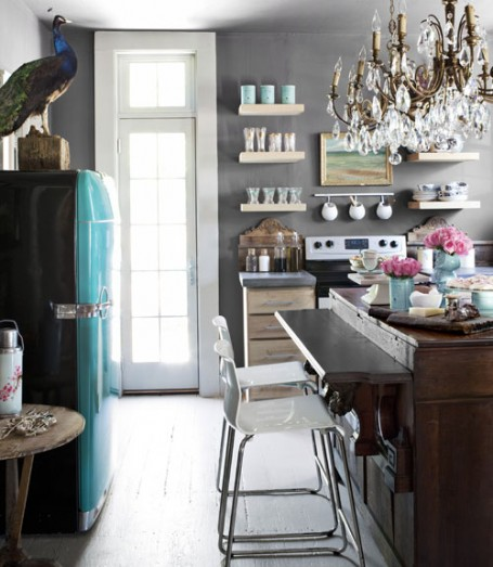 Unique kitchen ideas Kitchen designs with grey walls