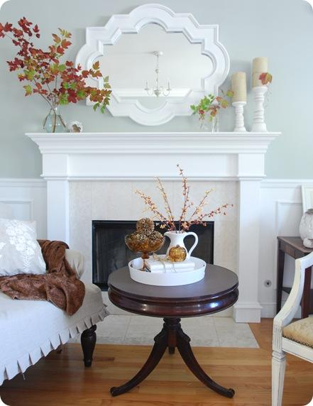 Inspired Holidays {Day 10}:: Tips for Mantels & Display Shelves