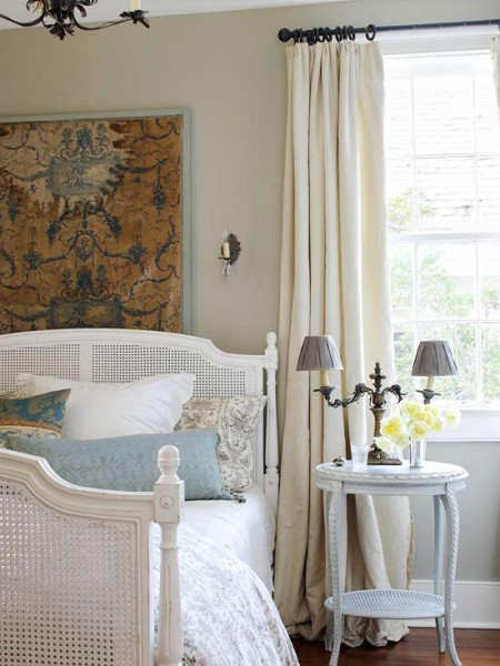 Inspired Holidays {Day 24}:: Nesting in Your Fall & Winter Bedroom