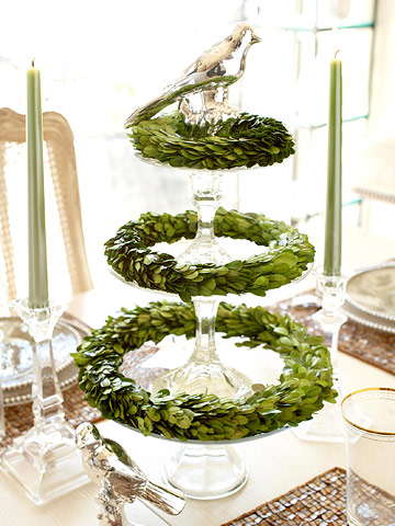 Inspired Holidays {Day 14}:: Christmas Decorating Power of Three