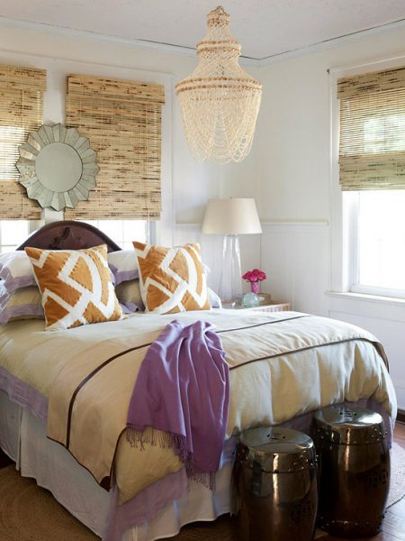 Inspired holidays day 24 nesting in your fall winter bedroom for Winter bedroom