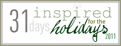Inspired Holidays {Day 9}:: Things to Treasure List