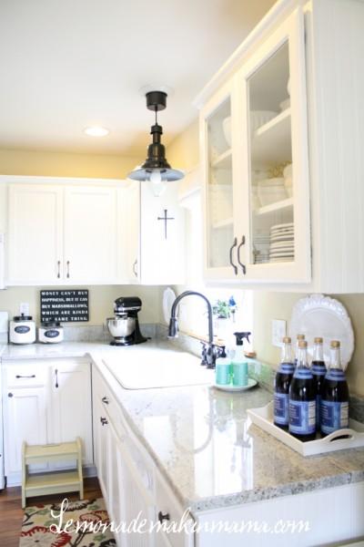 Ikea Kitchen Makeover On Kitchen Makeover Lemonade Makin Mama