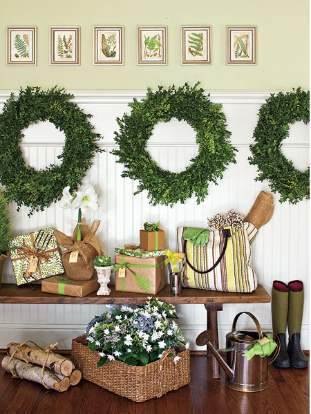 inspired holidays day 14 christmas decorating power of three southern living - Southern Living Christmas Decorations