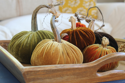 Inspired Holidays {Day 2}:: Plush Pumpkins {A Fall Giveaway}