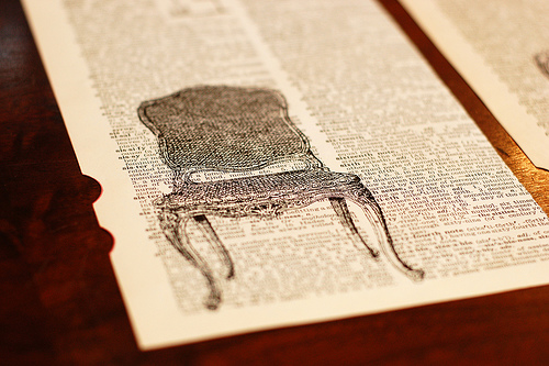 DIY Dictionary Art