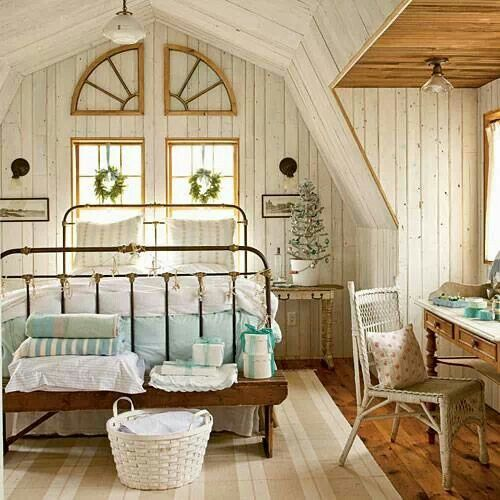 Christmas and Winter Bedroom Decorating