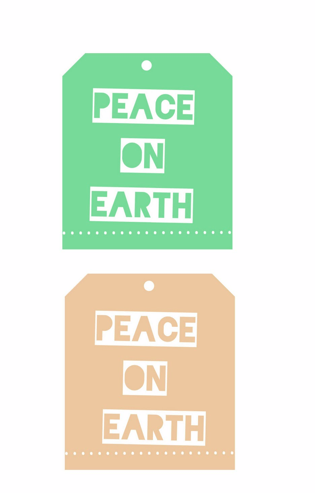 Free Holiday Gift Tags Downloadable