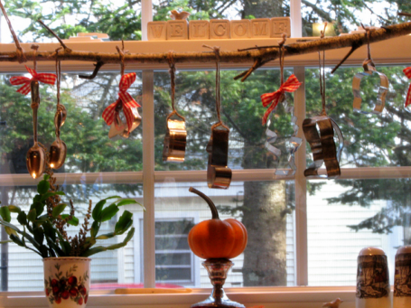 Kitchen Christmas Decorating