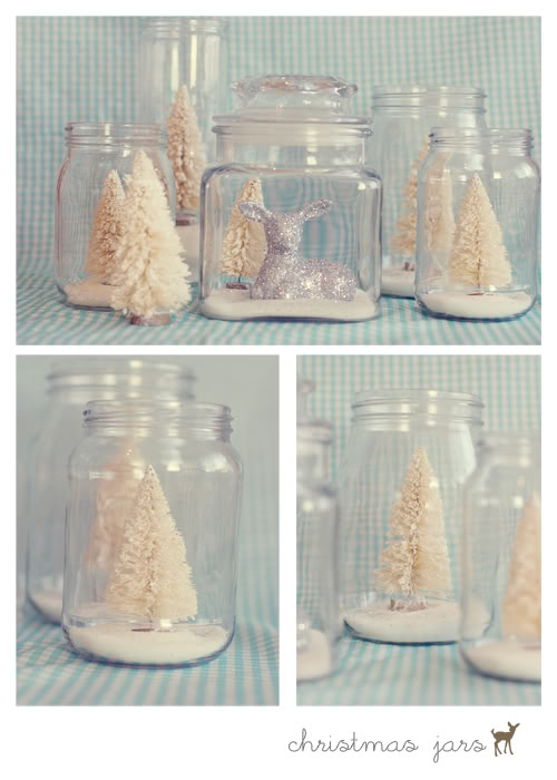 Christmas Mason Jars {Tortoise and the Hare}
