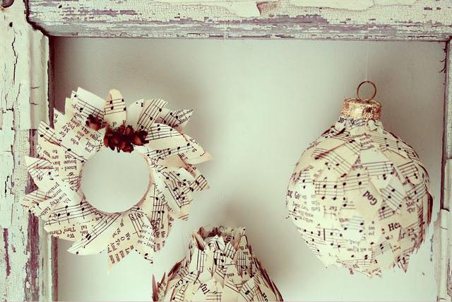 Cute Sheet Music Ornaments Craftberry Bush The