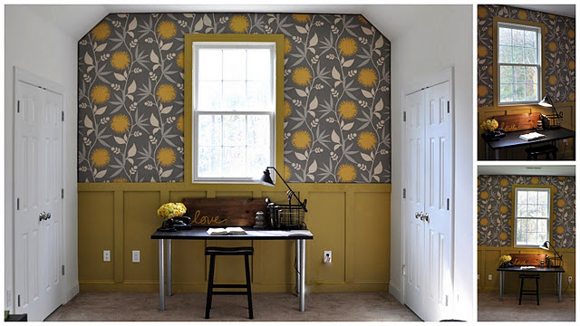 Wallpaper Fabric Decorating An Apartment