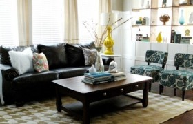 Living Room Makeover {Vintage Revivals}