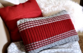 DIY Sweater Pillows {Centsational Girl}
