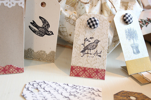 Gift Wrap, Tags & Ribbon Ideas for All Occasions {Use What You Have}