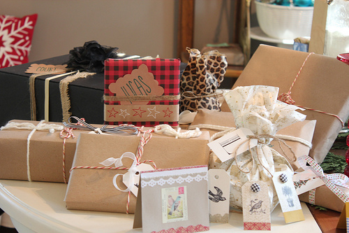 Gift Wrap, Tags & Ribbon Ideas for All Occasions {Use What You Have ...
