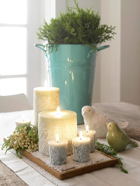 Use What You Have to Make 3 Quick & Simple Winter Tablescapes