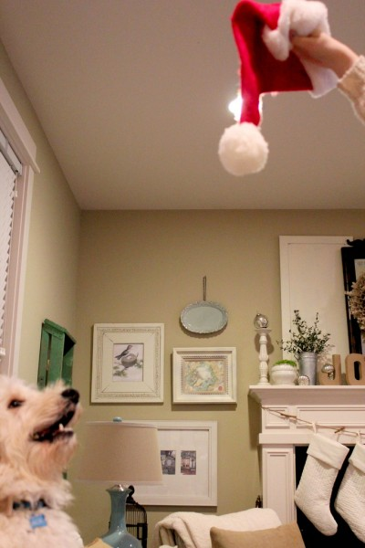 My Christmas Mantel 2011
