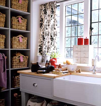 mudroom organization, laundry room organization