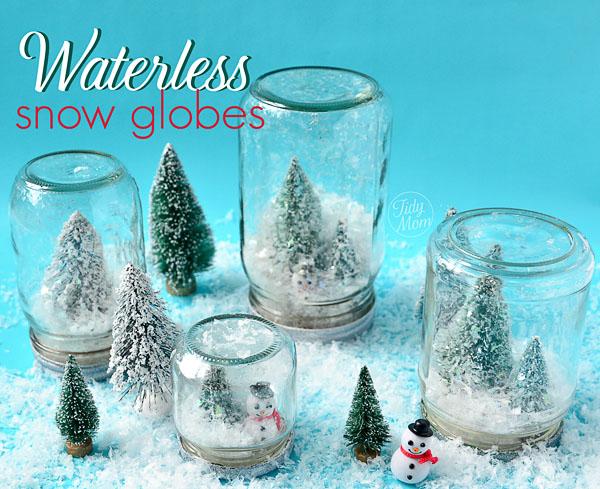Waterless Snow Globe Craft 600 x 489